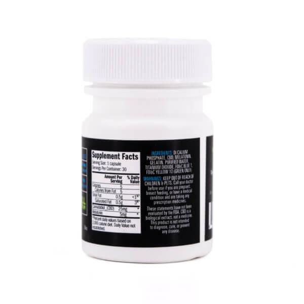 CBD melatonin capsules